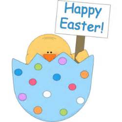 Happy Easter Chick Egg Clip Art - Polyvore