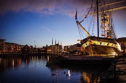 Britain Ss Brunel Venue Bristol Ship Night