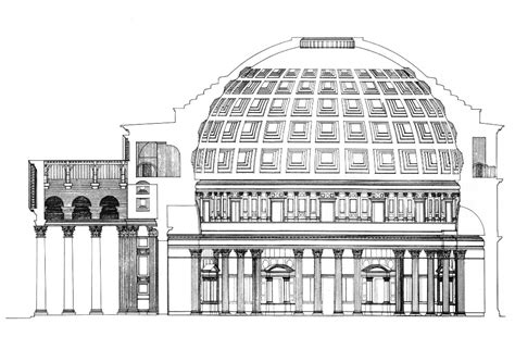 Cupola Pantheon Roma by Pantheon Panteon Wikitecnica