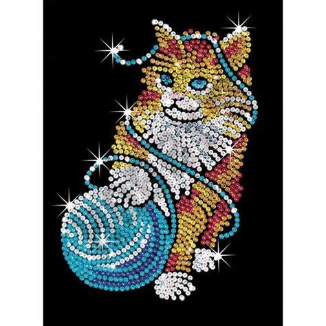 shop sequin art kitten hobbyukcom hobbys