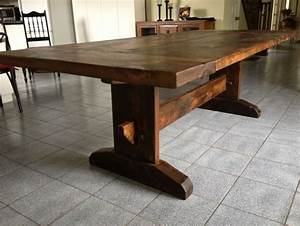Shaker Trestle Table Plans Free WoodWorking Projects Plans