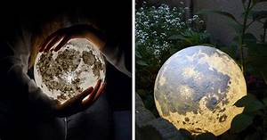 These Moon And Planet Lamps Will Make Your Room Look Out