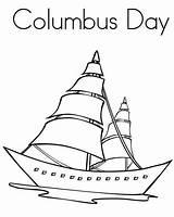 Columbus Coloring Christopher Coloringpagesfortoddlers Disimpan Dari sketch template