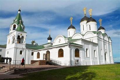 Monasteries Murom Churches Russia Century Cathedral 16th