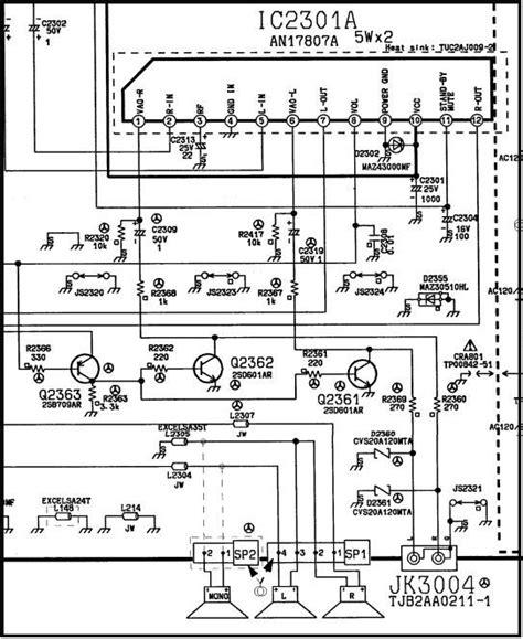 diagrama d tv panasonic yoreparo