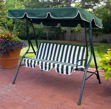 canopy swing green 1