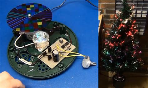 hacking a christmas tree for less blinkyness hackaday