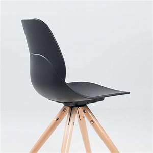 Chaise Bois Design : chaise design en polypropyl ne et bois victoire 4 pieds tables chaises et tabourets ~ Teatrodelosmanantiales.com Idées de Décoration