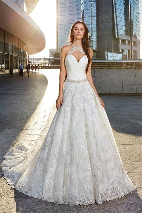 a line eddy k bridal gowns designer wedding dresses 2018