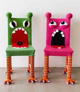 Ikea Möbel Neu Gestalten : whimsical monster chair colorful kids furniture von knitsforlife diverses pinterest m bel ~ Markanthonyermac.com Haus und Dekorationen