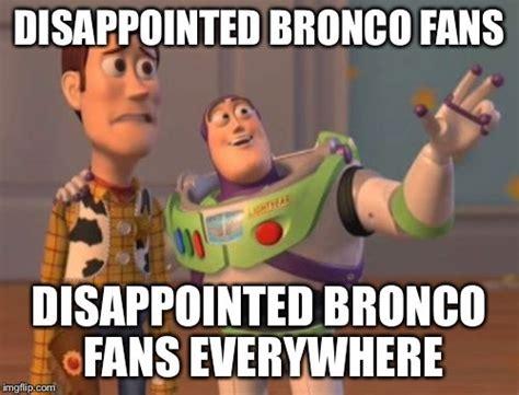 Broncos Suck Meme - 9 broncos memes for panthers fans that get the smack talk started romper