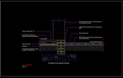 paving detail cad files dwg files plans  details