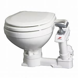Johnson Pump Aqua T Compact Manual Marine Toilet