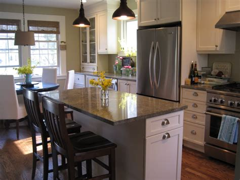 kitchen island designs with seating best ideas to select paint color for a small kitchen to
