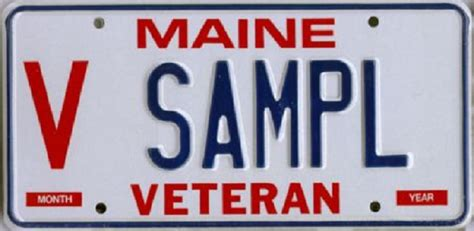 Maine Dmv Vanity Plates by Maine Veterans Reminded They Can Get License Plate Decals