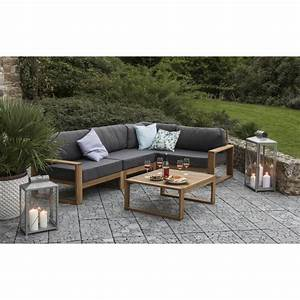 ensemble salon 5 pieces flip autres marques jardinerie With salon de jardin pour terrasse 6 jardinerie deco noel