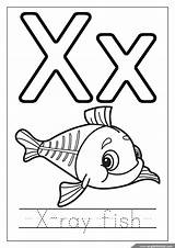 Coloring Alphabet Ray Letter Letters Fish English Worksheets Sheets Preschool Printable Youngandtae Anglais Preschoolers Printables Template Ius Tech sketch template