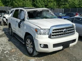 salvage toyota sequoia cars  sale  auction