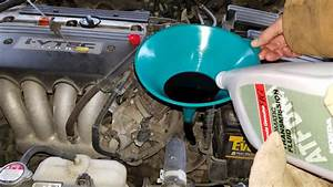 What Is The Recommended Transmission Fluid  Atf  For A