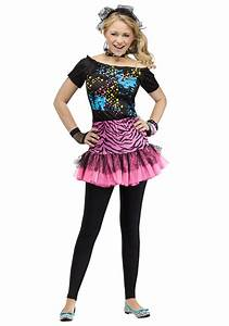 Teen 80s Pop Party Costume