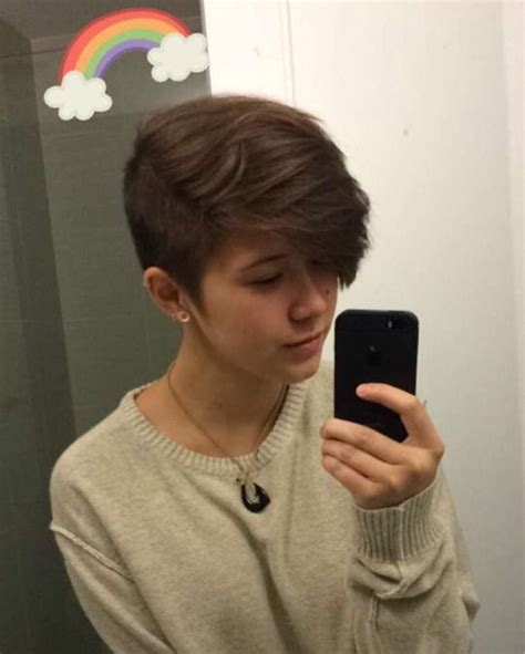 queercuts hair hair cuts androgynous haircut