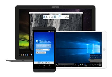 mobile device software teamviewer remote android ios universal