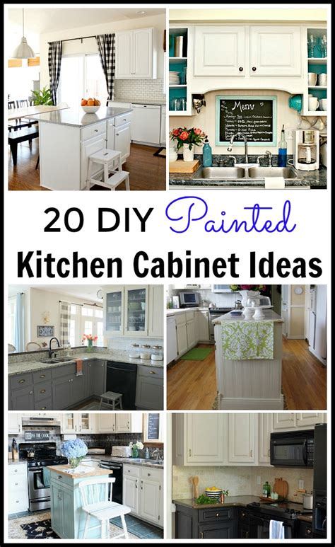 diy kitchen cabinets ideas diy painted kitchen cabinets ideas quicua com