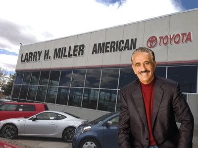 Larry Miller Toyota Albuquerque by Pitching In Miller Dealerships Donate 18 000