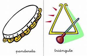 Fichas y sonidos de instrumentos musicales