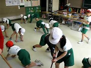 Japanese School Cleaning Time! - YouTube