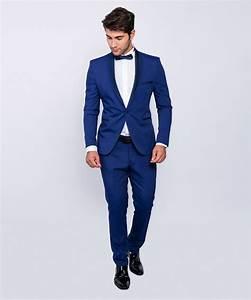 Hochzeitsanzug Herren Blau : slim fit herren smoking in blau anzug hochzeit b hne sakko ebay ~ Frokenaadalensverden.com Haus und Dekorationen