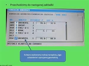 Fanuc Manual Guide I  U2013 Definiowanie Narz U0119dzi  U2013 Toczenie