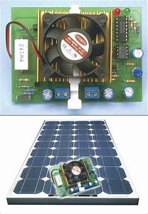 Automatic 12v 24v Solar Panel Charger Circuit