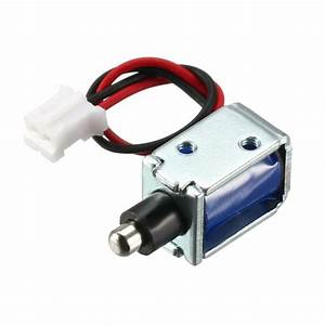 Dc 12v 0 42a 3mm Mini Electromagnetic Solenoid Lock Push