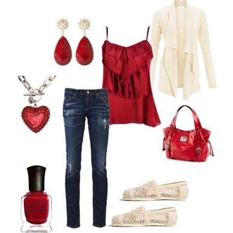 colletion  hot red outfits  casual  formal