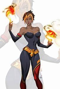 Commission, Flamedancer, By, S, Deviantart, Com, Kevintut, On, Deviantart