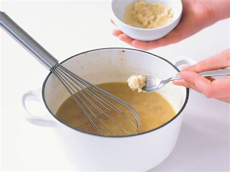 adding flour to thicken sauce how to thicken sauces and gravy