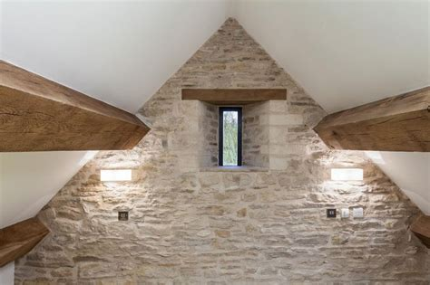 barn conversion filled with light corn barn