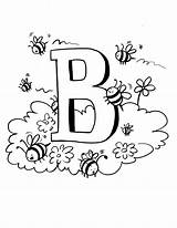 Bee Coloring Pages Printable Printables Bees Colouring Bumble Bambi Preschool Honey Sheets Letter Books Toddler Projects Crafts Coloringpages Ws Pollinator sketch template