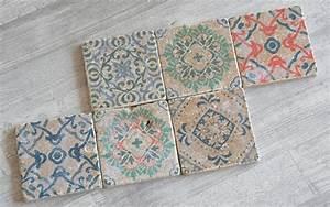 Mosaik Selber Fliesen Auf Altem Tisch : diy vintage fliesen selber machen sch n bei dir by depot ~ Watch28wear.com Haus und Dekorationen