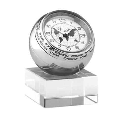horloge sur le bureau horloge de bureau heure mondiale publicitaire personnalisé