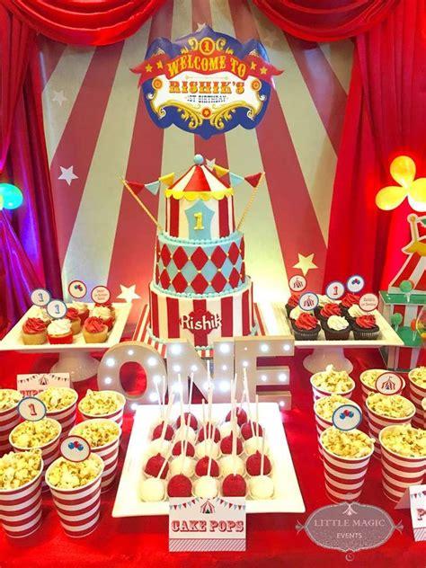 Carnival Theme Birthday Party Ideas  Gorgeous Cakes