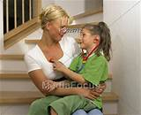 Teen and mother playing doctor