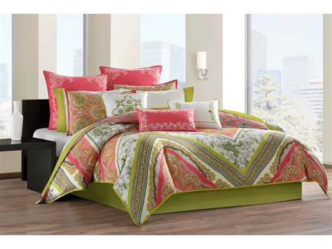 Echo Jaipur Bedding Collection by Echo Design Gramercy Paisley Comforter Mini Set Twin
