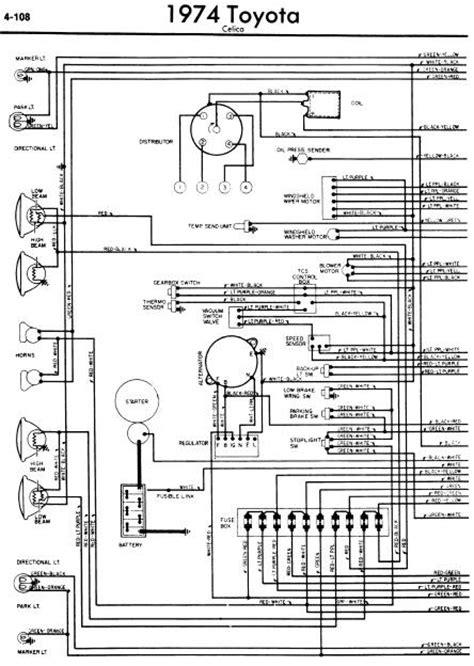 Repair Manuals Toyota Celica Wiring Diagrams