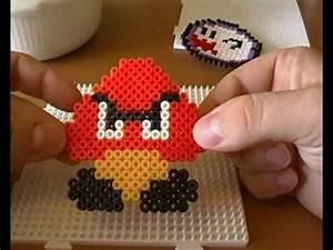Bügelperlen Super Mario : videospielfiguren basteln mit b gelperlen youtube ~ Eleganceandgraceweddings.com Haus und Dekorationen