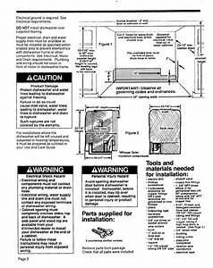 Page 2 Of Kitchenaid Dishwasher 4171206 User Guide