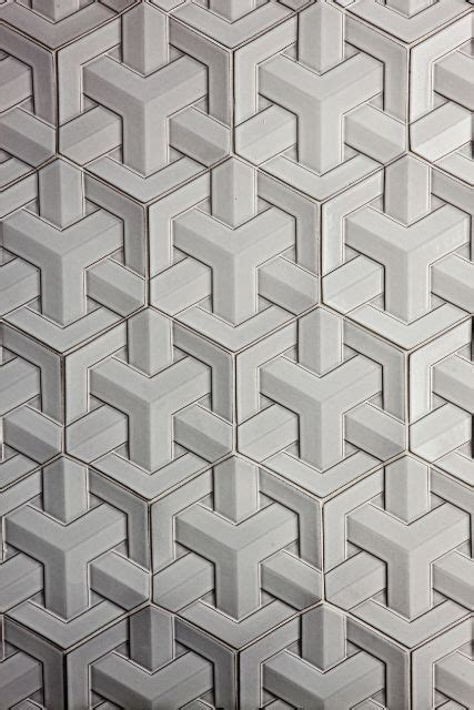 daniel ogassian glazed ceramic geoweave tiles for sacks geometry