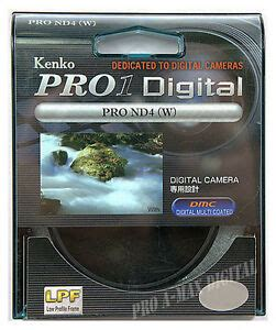 kenko 77mm pro1 digital nd4 neutral density filter 77 ebay