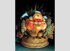BEAUTIFUL PAINTINGS Giuseppe ARCIMBOLDO Head with Fruit
